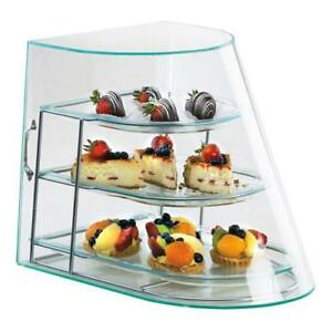 Cal mil 1505 3 3 tier Display Case Bakery Donut Pastry