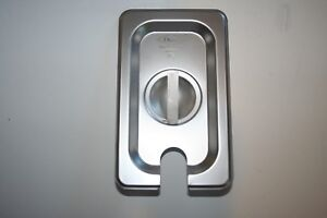 New Case Of 6 1 9 Size Slotted Stainless Steel Steam Table Hotel Pan Lid Cover