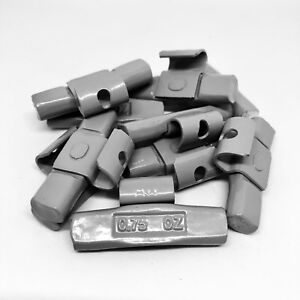 Tire Wheel Balancing Weights Aw Type Clip On 75 Oz Pieces 50 Pcs Bag