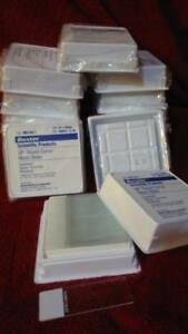 1000 Standard size glass Microscope Slides 14 Boxes 7 Gross superfrost 25x75 Mm