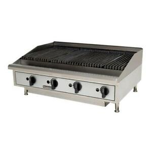 Toastmaster Tmrc48 48 Countertop Radiant Gas Charbroiler Grill