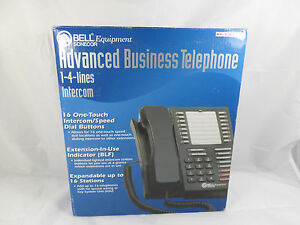 Bell Advanced Business Telephone 1 4 Lines Intercom