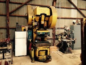 Minster 75 Ton Obi Punch Press Model 75 12449