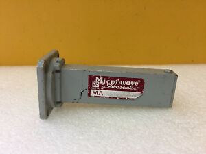Microwave Associates Ma684 10 To 15 Ghz wr75 3 59 L Waveguide Termination