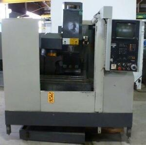 Bridgeport Cnc Vertical Machining Center Interact 412v 29526