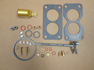 John Deere 50 520 530 Carburetor Carb Kit With Throttle Shaft Float