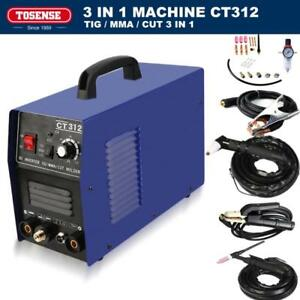 Tig mma Welder Plasma Cutter 120 30a Ct312 3in1 Arc Welding Machine