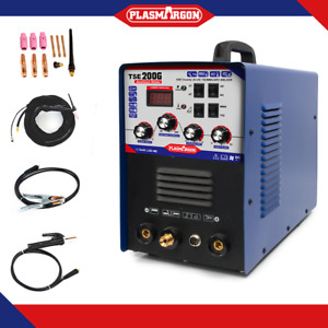 Igbt Inverter Ac dc Tig mma Aluminum Welder Machine Tse200g With Foot Pedal New