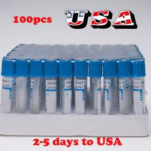 Usa Buffered 3 2 Sodium Citrate Blood Collection Tubes 100pcs Plastic 2ml Tube