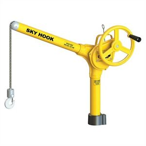 Syclone 8500 01 Sky Hook With Square Turret Or 3 4 Tool Block