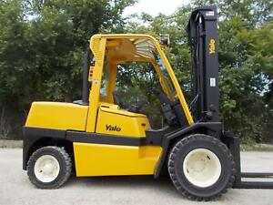 Yale Gdp110mjn Pneumatic Forklift Lift Truck Hilo Fork 11 000lb Capacity perkins