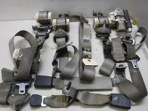 2008 2009 2010 Ford F350 Xlt Extended Cab stone Seat Belts Complete Oem