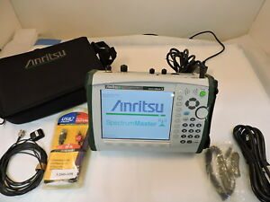 Anritsu Ms2721b Spectrum Master Handheld Spectrum Analyzer 9khz To 7 1ghz