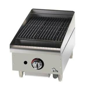 Star 6115rcbf Star max 15 In Radiant Gas Charbroiler