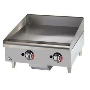 Star 624mf Star max 24 In Manual Control Gas Griddle