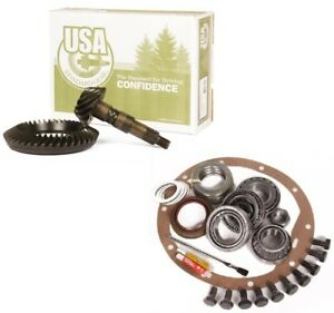 Jeep Cj Amc Model 20 Rearend 4 56 Ring And Pinion Master Install Usa Gear Pkg