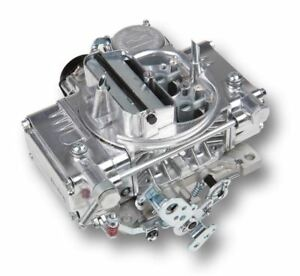 Holley 0 80457s 600 Cfm Classic Carb With Electric Choke Silver Finish