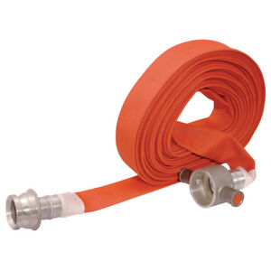 Jaymac Industrial Products Fire Hose 45mm Id 18mtr c w Fittings 12 00934