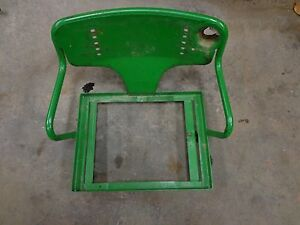 John Deere 520 530 620 630 Non Float Ride Seat Top 1