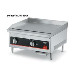 Vollrath 40718 Cayenne 12 Manual Gas Flat Top Griddle