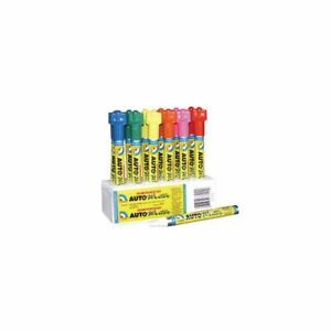 U S Chemical Plastics 37000 Autowriter Markers Assorted Colors Pack Of 12
