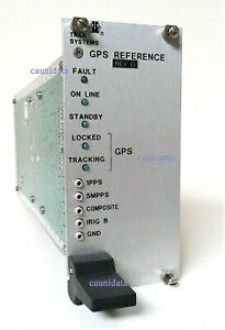 Trak Systems Model 9101 5 Gps Reference Module Double Oven Crystal Oscillator Do