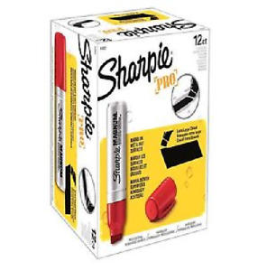 Sharpie Magnum Permanent Marker Red 44002 Pack Of 12
