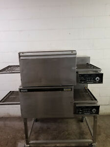 Lincoln Impinger Double Stack 1132 Pizza Conveyor Ovens 120 208v Tested