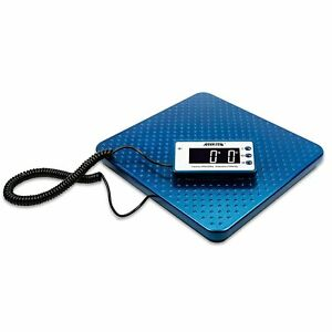 Digital Shipping Scale Stainless Steel Ware House Postal Mail Room 440lb Weight