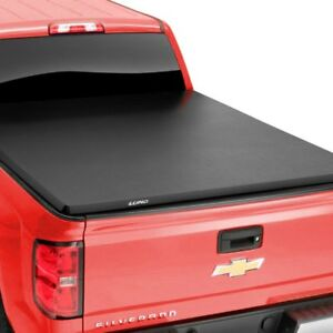 For Chevy Silverado 1500 2007 2013 Lund 969154 Hard Folding Tonneau Cover
