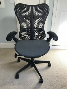 Herman Miller Mirra 2 Home Office Chairs Black And Grey