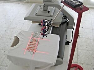 Laser Targeting Systems heat Press Embroidery Screen Printing Digital Print