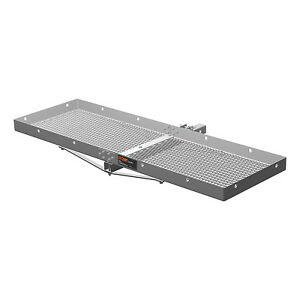 Curt Vehicle Rear Mounting Tray Style Cargo Carrier For Up To 300 Lbs 18100