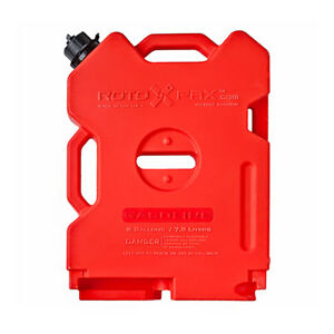 Rotopax Durable Leakproof 2 Gallon Epa Safe Gasoline Container And Spout Red