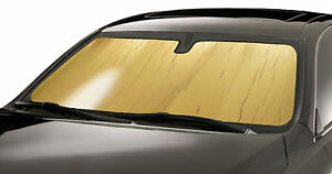 Gold Sun Shade 1990 1993 Acura Integra Best Fitting Windshield Shade Ac 01 g