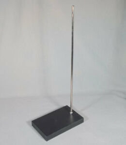 Laboratory Support Clamp Stand With Rectangular Heavy Resin Base Fisher Sci