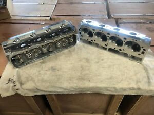 Chevrolet 396 427 454 496 502 540 Bbc 2 Aluminum Heads Bare 320cc Rectangle