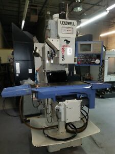 Leadwell Cnc Knee Type Milling Machine 3 Axis