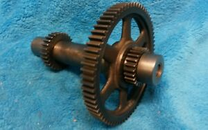 Logan 10 Lathe Complete Back Gear Excellent Condition Good Teeth