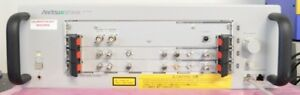 Anritsu Mt1810a Signal Quality Analyzer 4 Slot Chassis Only Opt 014