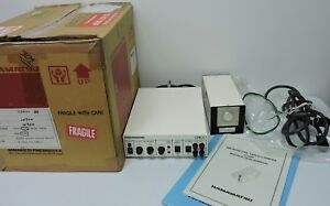 Hamamatsu C2400 08 Ccir Microscope Camera Ccd Controller Manual Original Box