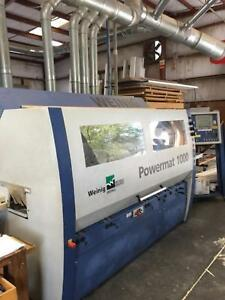 Weinig Powermat Moulder woodworking
