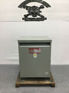 Ge General Electric 9t23b3853 45 Kva 3 Phase Dry Transformer New