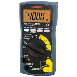 Sanwa Digital Multimeter Backlight Mounted Cd771 Free Shipping From Japan