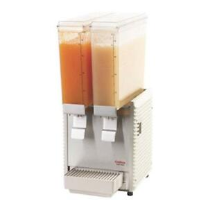 Crathco E29 4 Mini Twin Refrigerated Beverage Dispenser