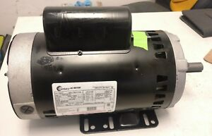 Electric Motor 5hp 3 Phase Century H847 7 164724 01 460 208 230 Rpm 3450