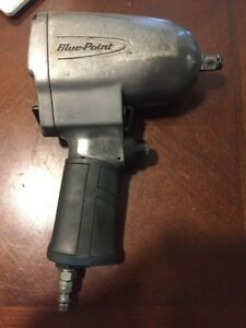 Blue Point 1 2 Drive Impact Wrench Gun Air Pneumatic At5500t Tight Access 550lb