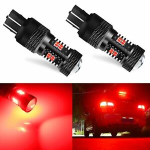 Jdm Astar 2x 7443 7440 Super Bright 14 smd Safety Brake Tail Stop Light Bulbs