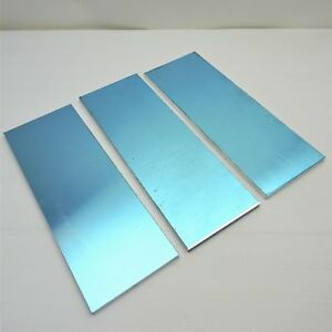 5 Thick 1 2 Precision Cast Aluminum Plate 5 5 x 17 25 Long Qty 3 Sku174472