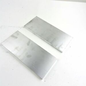 5 Thick 1 2 Aluminum 6061 Plate 6 25 X 15 75 Long Qty 2 Sku 174488